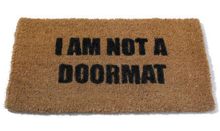 Being a doormat won't get your ex back